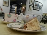 coconot loft carrot cake and tea~13th Feb 2015